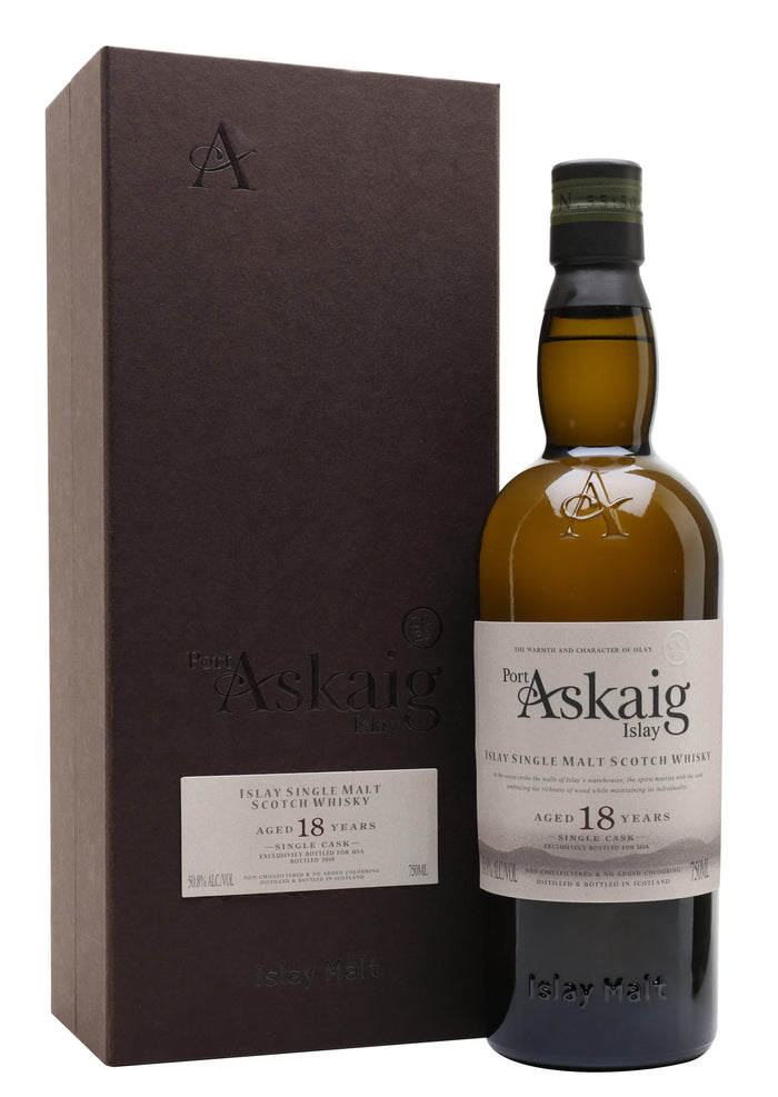 Port Askaig 18 Year Single Cask (US Exclusive) Islay Single Malt Scotch Whisky