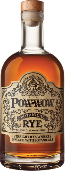 Pow-Wow Botanical Straight Rye Whiskey | 750ML