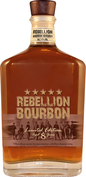 Rebellion 8 Year Old Bourbon Whiskey - CaskCartel.com