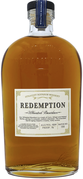 Redemption Wheated Bourbon Whiskey