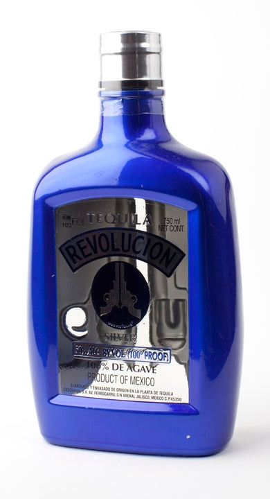 Revolucion 100 Proof Silver Tequila