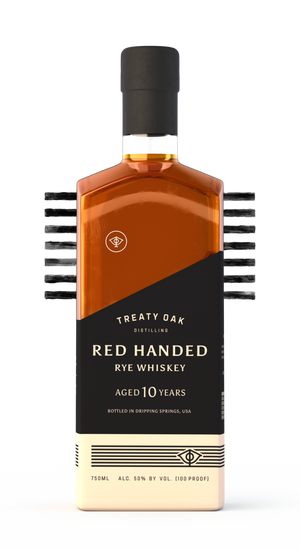 Treaty Oak Red Handed Bourbon 10 Year Rye Whiskey - CaskCartel.com