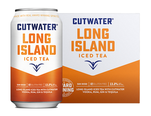 Cutwater Spirits Long Island Iced Tea Ready-To-Drink 4-Pack 12oz Cans at CaskCartel.com