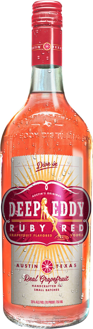 Deep Eddy Ruby Red Grapefruit Vodka - CaskCartel.com