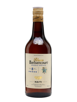 Rhum Barbancourt 5 Star 8 Year Old Rum - CaskCartel.com