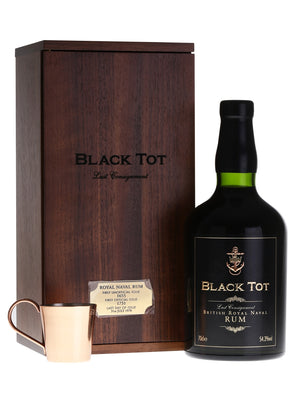 Black Tot Last Consignment British Royal Navy Rum - CaskCartel.com