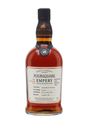 Foursquare 14 Year Old Empery Exceptional Cask Selection Mark IX Single Blended Rum - CaskCartel.com