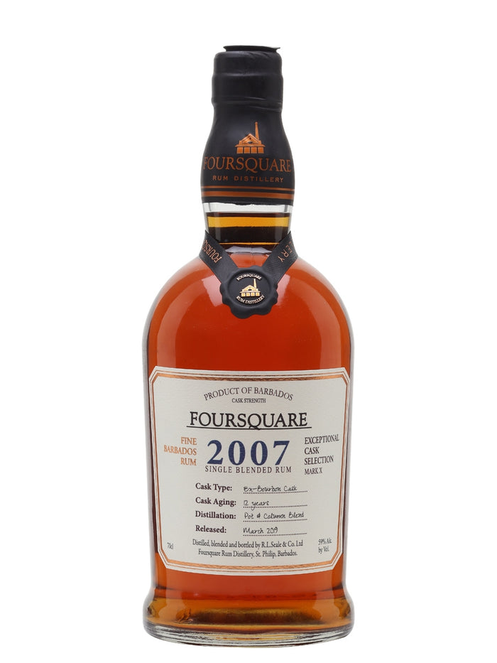 "Foursquare ""Mark X"" 2007 Single Blended Rum"