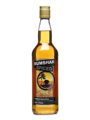 Rumshak Caribbean Spiced Rum | 700ML at CaskCartel.com
