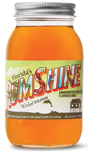 Wicked Dolphin Apple Pie RumShine