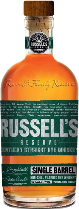 Russel's Reserve Single Barrel Kentucky Straight Rye