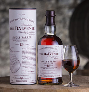 The Balvenie 15 Year Old Single Barrel Single Malt Scotch Whisky Sherry Cask 2 - CaskCartel.com