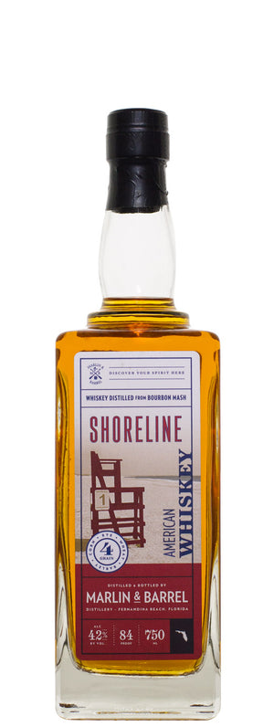 Marlin & Barrel Shoreline American Whiskey - CaskCartel.com