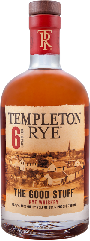 Templeton 6 Year Old Rye Whiskey - CaskCartel.com