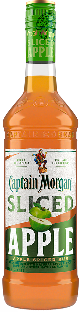 Captain Morgan Sliced Apple Spiced Rum at CaskCartel.com