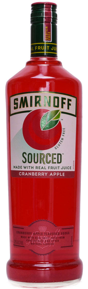 Smirnoff Sourced Cranberry Apple Vodka