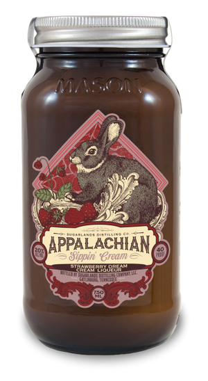 Sugarlands Appalachian Sippin' Cream Strawberry Dream Cream Liqueur - CaskCartel.com