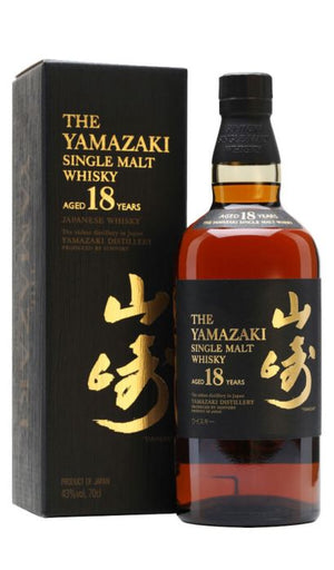 The Yamazaki 18 Year Old Single Malt Whisky - CaskCartel.com