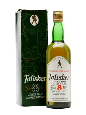 Talisker 8 Year Old Bot.1980s Island Single Malt Scotch Whisky | 700ML at CaskCartel.com