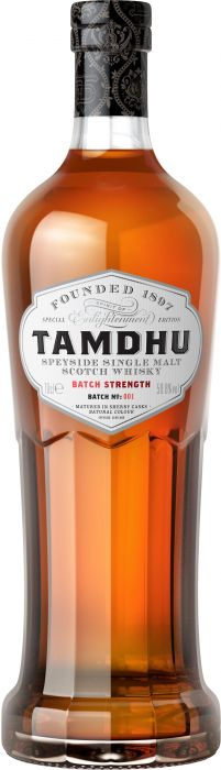 Tamdhu Batch Strength #1 Speyside Single Malt Scotch Whisky