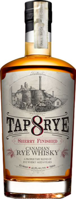 Tap 8 Rye Sherry Finished Canadian Rye Whiskey - CaskCartel.com