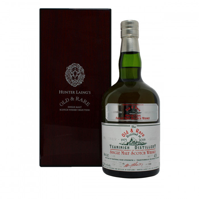 Teaninich 43 Year Old Platinum Old & Rare Single Malt Scotch Whisky