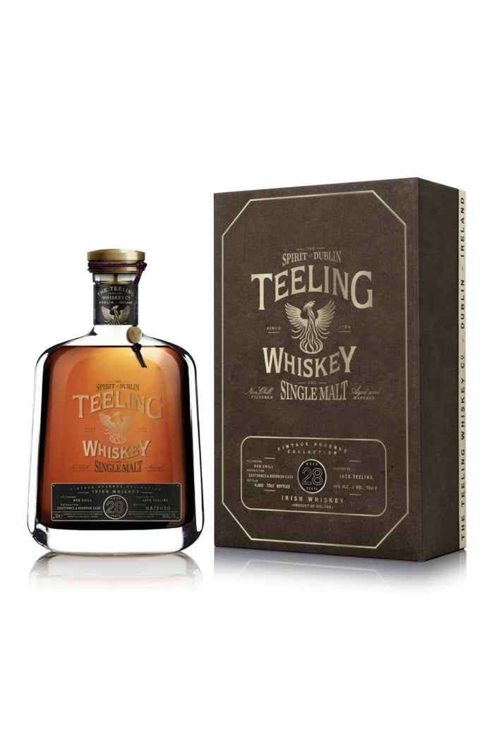 Teeling Vintage Reserve Collection Single Cask 28 Year Old Irish Whiskey
