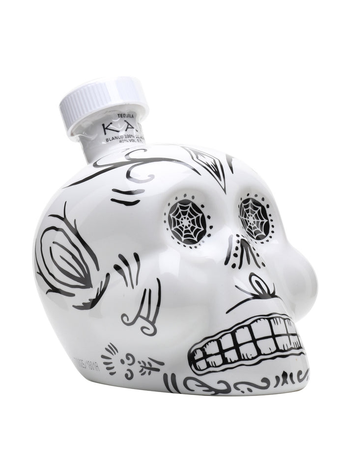 Kah Blanco Tequila | Painted Sugar Skull | Collectors Edition