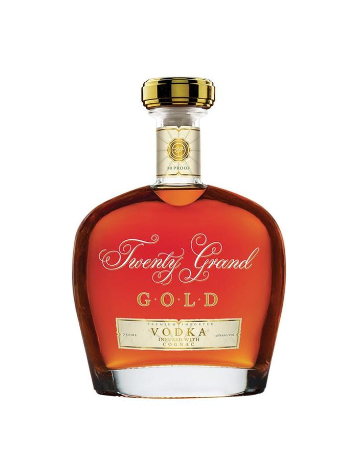 Twenty Grand Gold Vodka Infused With Cognac