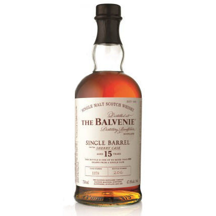 Anthony Bourdain | The Balvenie 15 Year Old Single Barrel Single Malt Scotch Sherry Cask Whisky