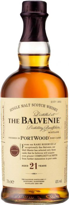 The Balvenie PortWood Finish 21 Year Old Single Malt Scotch Whisky - CaskCartel.com