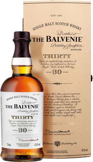 The Balvenie Thirty 30 Year Old Cask Strength Single Malt Scotch Whisky - CaskCartel.com