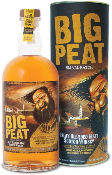 The Big Peat Small Batch Islay Scotch Whisky