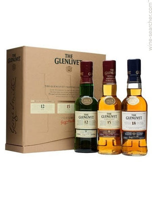 The Glenlivet Tasting Kit Gift Set 200ml Bottles CaskCartel.com