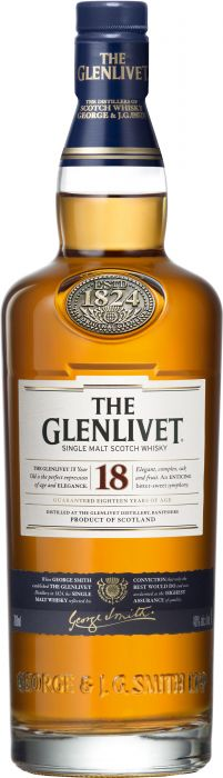 The Glenlivet 18 Year Old Single Malt Scotch Whisky - CaskCartel.com