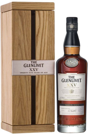 The Glenlivet XXV (25 Year Old) Single Malt Scotch Whisky - CaskCartel.com
