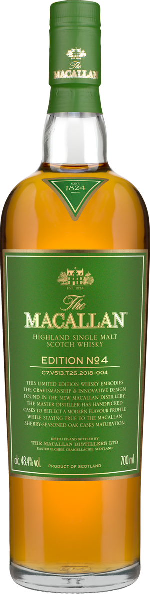 The Macallan Edition No. 4 Single Malt Scotch Whisky CaskCartel.com