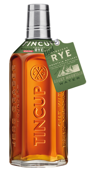 Tin Cup Aged 3 Year Rye Whiskey