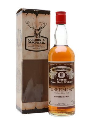 Tobermory 1972 8 Year Old Connoisseurs Choice Island Single Malt Scotch Whisky | 700ML at CaskCartel.com