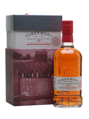 Tobermory 21 Year Old Manzanilla Finish Island Single Malt Scotch Whisky - CaskCartel.com