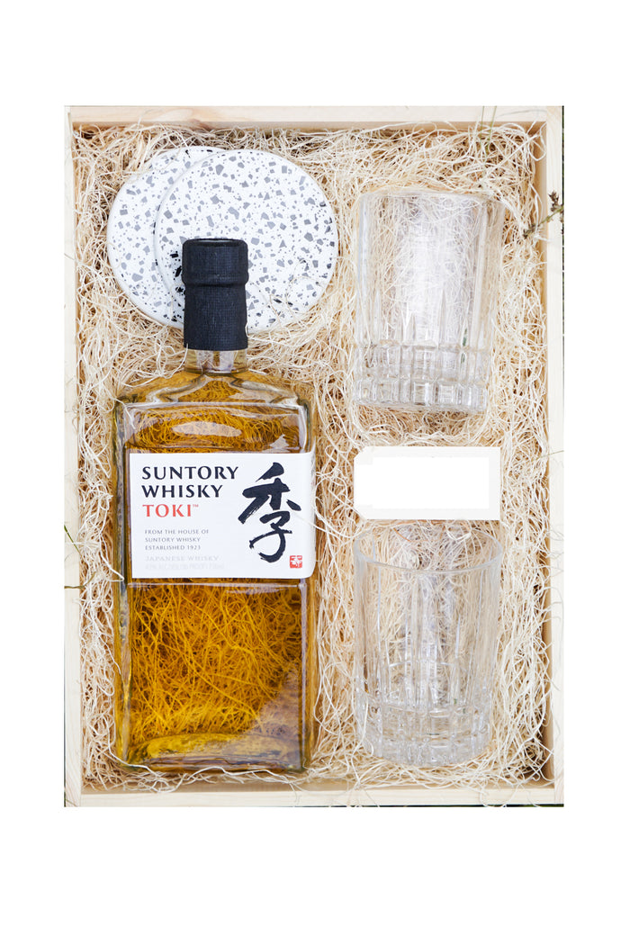 Suntory Toki Japanese Whisky With 2 Glass