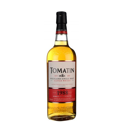 Tomatin 25 Year Old 1988 Batch 1 Limited Release Whisky