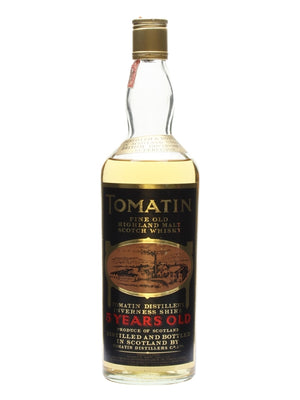 Tomatin 5 Year Old Bot.1980s Highland Single Malt Scotch Whisky | 700ML at CaskCartel.com