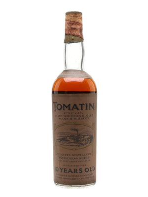 Tomatin 10 Year Old Bot.1960s Highland Single Malt Scotch Whisky | 700ML at CaskCartel.com