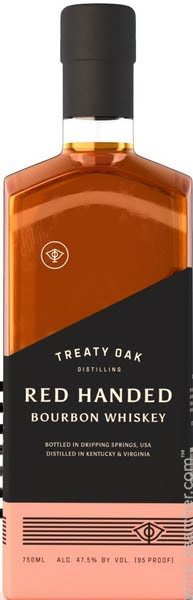 Treaty Oak Red Handed Bourbon Whiskey - CaskCartel.com
