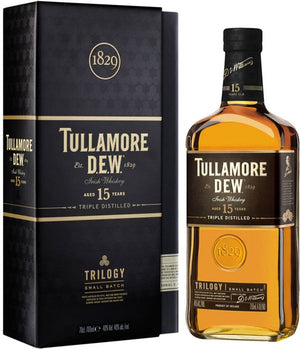Tullamore DEW 15 Year Old Trilogy Small Batch Irish Whiskey - CaskCartel.com