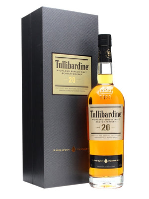 Tullibardine 20 Year Old Highland Single Malt Scotch Whiskey - CaskCartel.com
