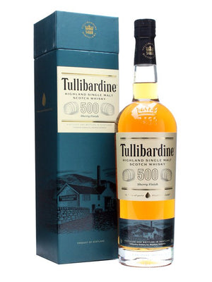 Tullibardine 500 Sherry Finish Whiskey - CaskCartel.com