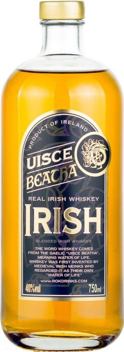 Uisce Beatha Real Irish Whiskey - CaskCartel.com