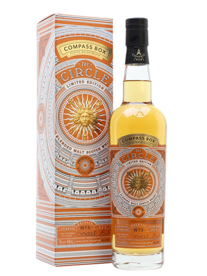 Compass Box The Circle Limited Edition Blended Malt Scotch Whisky - CaskCartel.com